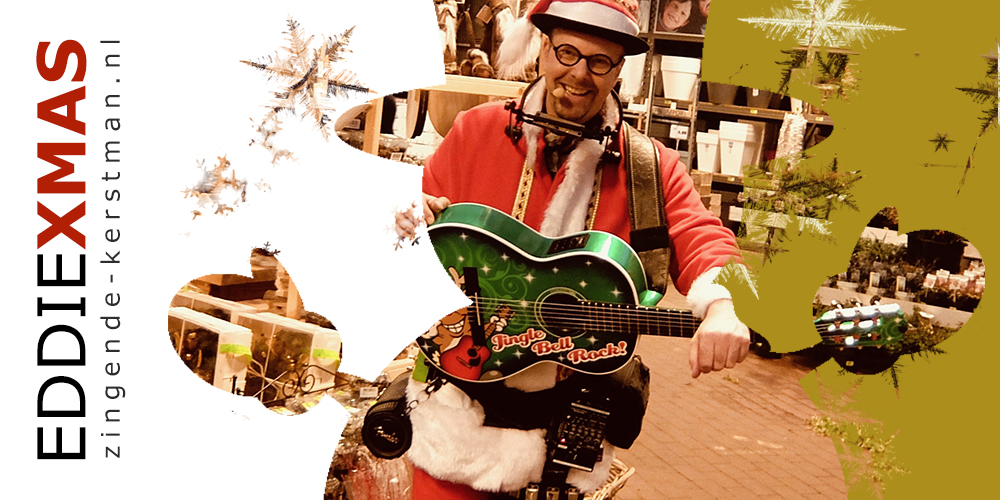 03 | Sneeuwpop | Zingende kerstman kerstborrel kerstfair kerstmarkt inhuren boeken kerst troubadour live muziek kerst winkelcentrum