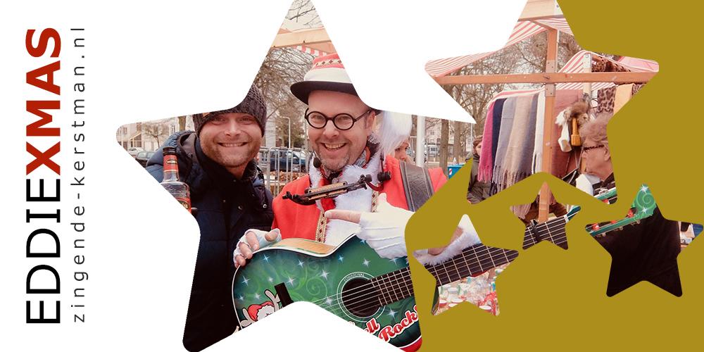 04 | Ster | Zingende kerstman inhuren muzikale mobiele kerstact boeken winkelcentrum gelderland utrecht flevoland friesland eddie xmas
