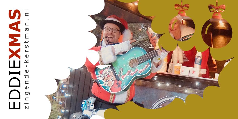 08 | Hulst | Zingende kerstman inhuren muzikale kerstact boeken kerst troubadour verzorgingshuis senioren live muziek christmas