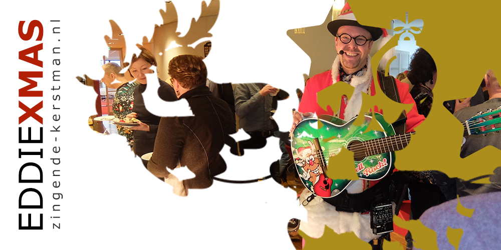 12   Slee   Zingende kerstman inhuren muzikale kerstact boeken drenthe overijssel flevoland kerst troubadour verzorgingshuis