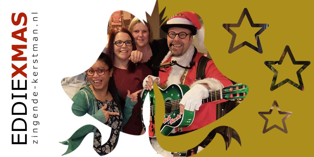 13 | Bellen | Zingende kerstman inhuren muzikale kerstact boeken kerst troubadour optreden santa gitaar live muziek christmas eddie xmas